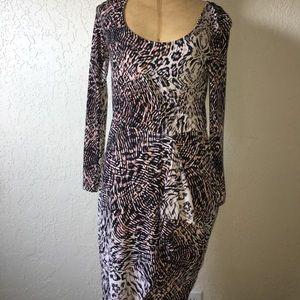 Long sleeve bar 111 dress